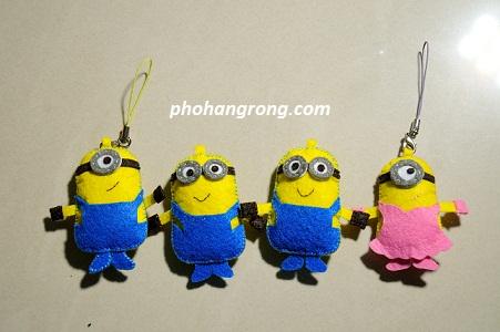 Moc Khoa Minion Handmade
